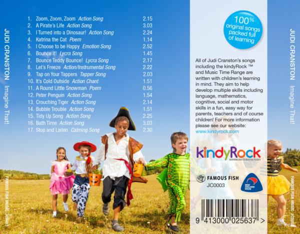 Imagine That Digital Download by Judi Cranston - Contents