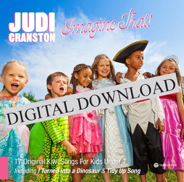 Imagine That! CD by Judi Cranston Digital Album