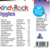 kindyRock Jiggles CD - Songs